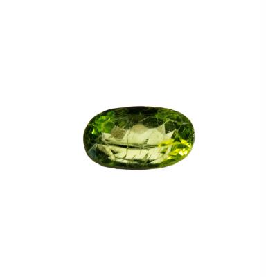 Gemma di Peridoto (Olivina) - Taglio Ovale 1.20x0.7 - 4.33 ct.