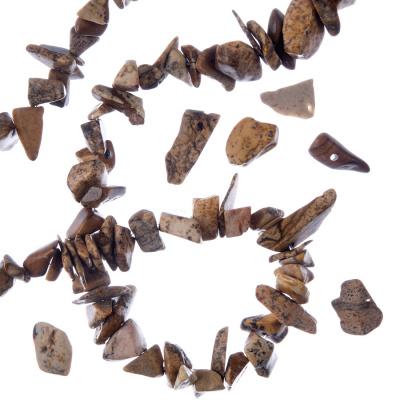 Pietra Paesina - Filo di chips da 80cm