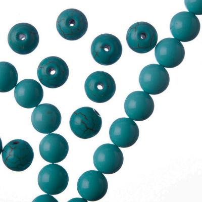 Turchese - Filo di sfere lisce da 8mm