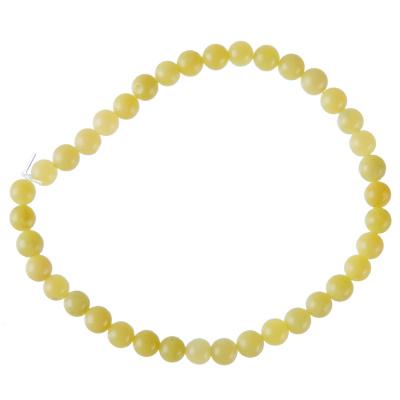 Cavigliera Unisex a sfere di Giada Lemon