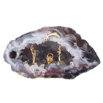 Presepe - Geode di Agata