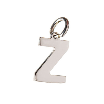 Pendente Lettera Z in Argento 925 - 15 mm