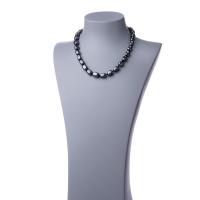 Collana corta in Ematite e Argento 925 - 48 cm