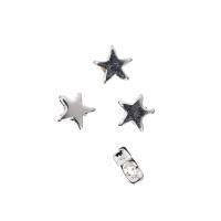 Distanziatore Stella in Argento 925 - diametro 0.6 cm - 1 pz.