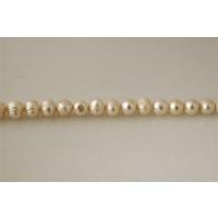 Filo di Perle naturali Bianche 10 - 11 mm