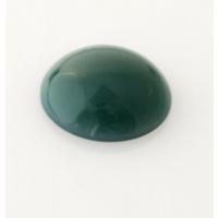 Cabochon in Agata Verde - Tondo 2.0x2.0x0.7