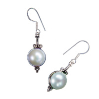 Orecchini con Perla e Argento 925