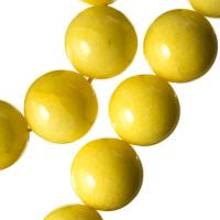 Agata Gialla - Filo di sfere lisce da 16mm