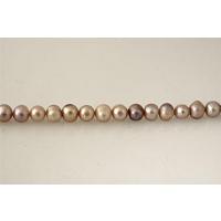 Filo di Perle naturali Rosa scuro 10 - 11 mm