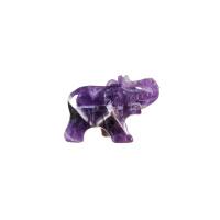 Elefante in Ametista