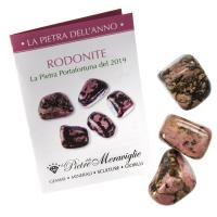 Rodonite - La Pietra dell'anno 2019 (1 pz.)