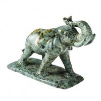 Elefante in Turchese Africano