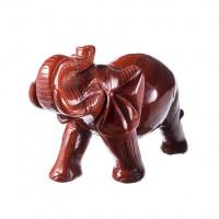 Elefante di Diaspro Rosso
