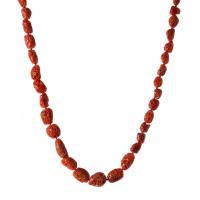 Collana Corallo Rosso e Argento 925