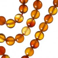 Corniola - Filo di sfere lisce da 8mm