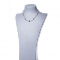 Collana corta in Labradorite e Argento 925