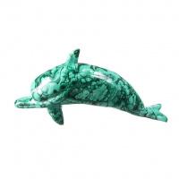 Delfino in Malachite