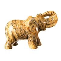 Elefante in Pietra Paesina