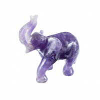 Elefante in Quarzo Ametrino