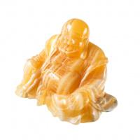 Budda in Calcite Gialla