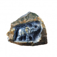 Elefante in Dumortierite