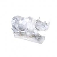 Rinoceronte in Cristallo di Rocca