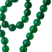 Agata Verde - sfera liscia da 8mm