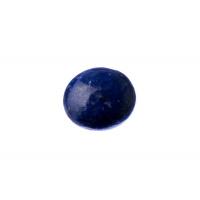 Cabochon in Lapislazzuli - Tondo 1.6x0.55 cm