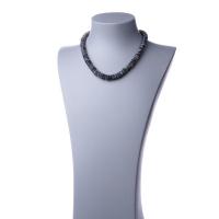 Collana Corta in Labradorite ed Argento 925