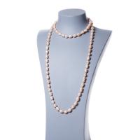 Collana di Perle Rosa d'Acqua dolce ovali