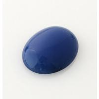Cabochon in Agata Blu - Ovale 1.8x2.5x0.6