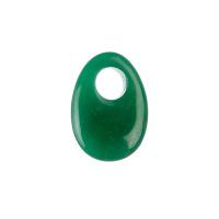Ciondolo Ovale in Avventurina Verde