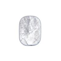 Cristallo Di Rocca Qualità Extra piatto, liscio e burattato - saponetta