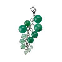 Charm in Avventurina Verde - Grappolo