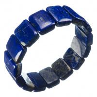 Bracciale di Lapislazzuli elastico