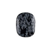 Ossidiana Fiocco di Neve piatta, liscia e burattata - saponetta