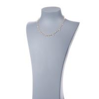 Collana corta in Quarzo Rosa e Argento 925 dorato - Fiori di Primavera
