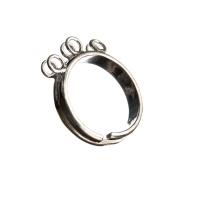 Base per anello in Argento 925 - diametro base 0.4 cm - 1 pz.
