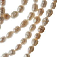Filo di Perle Grado A a forma di riso da 6-7 mm color Bianco