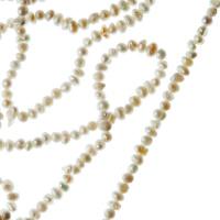Filo di Perle Tonde Irregolari (Potato) Grado A da 2-3 mm color Bianco