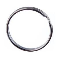 Link o Anello portachiavi in acciaio color Argento da 35 mm. - 4 pz.