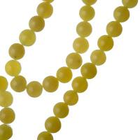 Giada Lemon - Filo di sfere lisce da 6mm