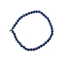 Bracciale Lapislazzuli grado A, elastico, sfere 4mm