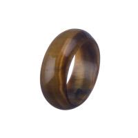 Anello All Stone in Occhio di Tigre - Medium