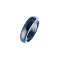 Anello All Stone in Ematite - Small
