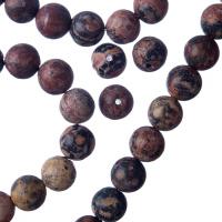 Pelle di Leopardo - sfera liscia da 8mm