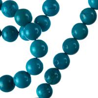 Turchese - Filo di sfere lisce da 10mm