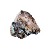 Aragonite Naturale con Pistacite - 871.4 gr. - 10.9x9x10.3 cm.