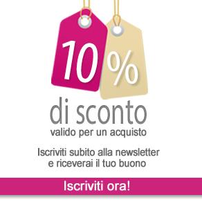 Coupon Benvenuto 10%